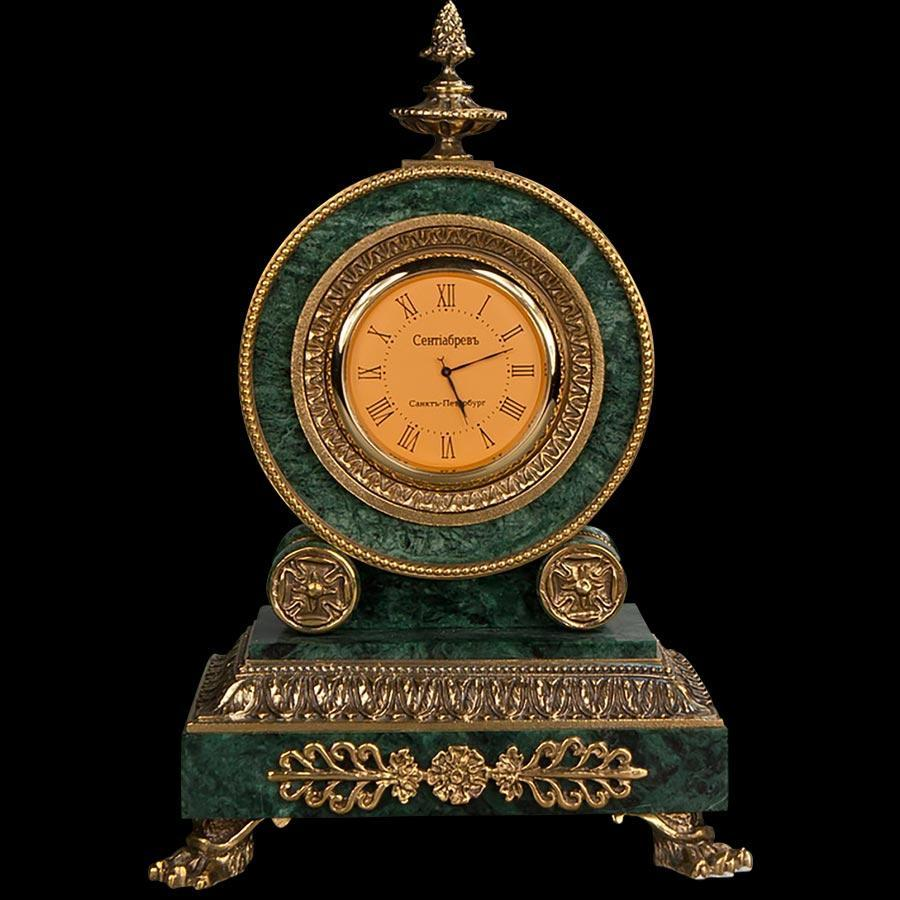 Diderot's marble clockmade of materials: Bronze , Marble manufacturing technique Fr. gilding - handmade